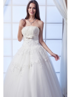 Ivory Beaded Best Quinceanera Gown Floor Length