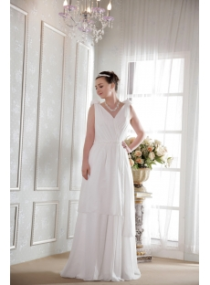 Ivory Chiffon Bohemian Wedding Dresses for Sale