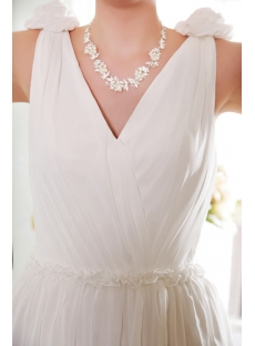 Ivory chiffon bohemian wedding dresses for sale 1st for Bohemian wedding dress for sale