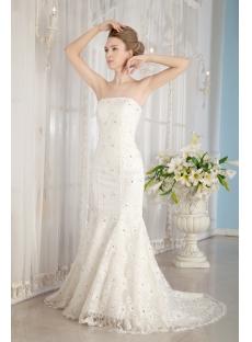 Corset Sheath Wedding Dresses