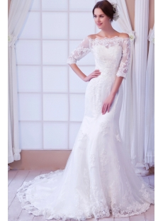 images/201308/small/Off-Shoulder-Sheath-Lace-Wedding-Dress-with-Middle-Sleeves-2696-s-1-1376323913.jpg