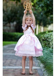 Pink Classical Flower Girl Dresses for Toddlers