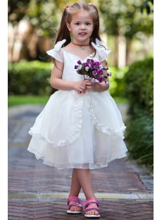 Princess Affordable Flower Girl Dresses