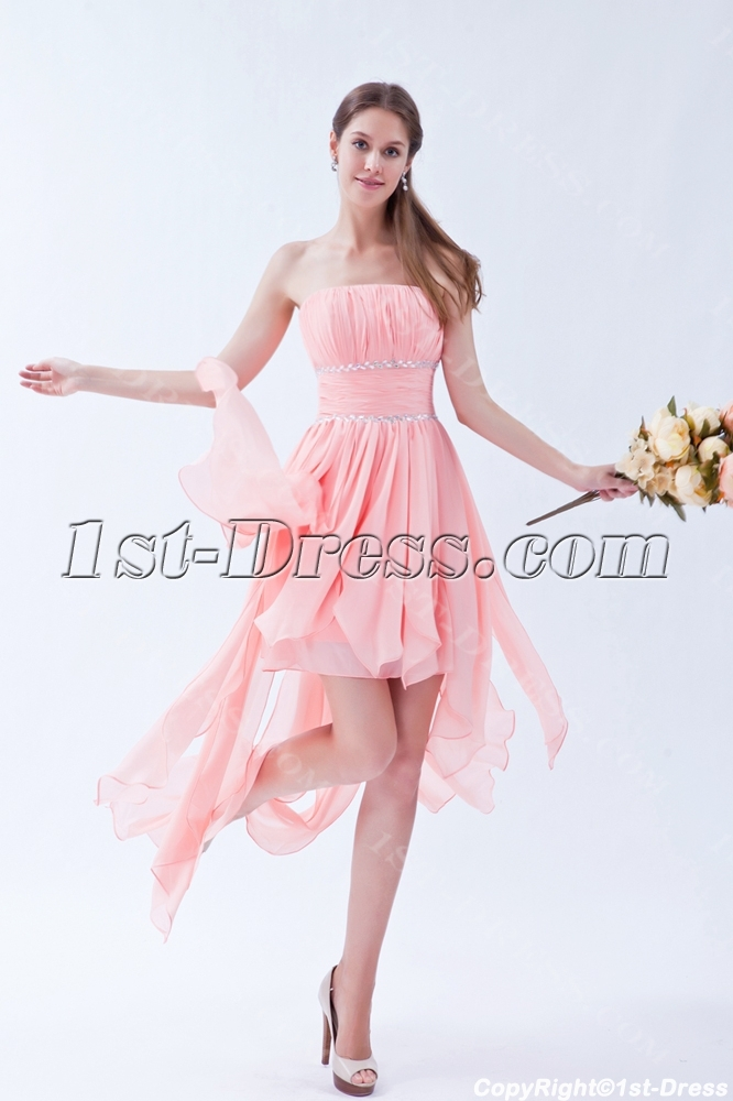 2013 High Low Romantic Style Prom Dresses 1st Dress Com