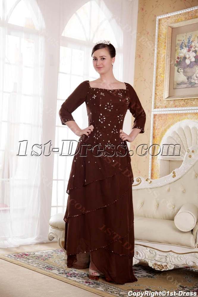 images/201308/big/Chocolate-Square-Mother-of-Bride-Dress-with-Long-Sleeves-2545-b-1-1375461822.jpg