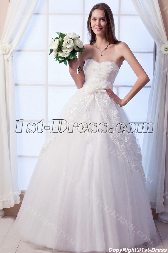 images/201308/big/Floor-Length-Modest-2011-Quince-Dress-with-Strapless-2675-b-1-1376064946.jpg