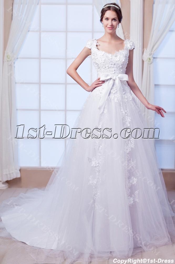 images/201308/big/Floral-Luxury-Wedding-Dress-with-V-Back-2683-b-1-1376314537.jpg