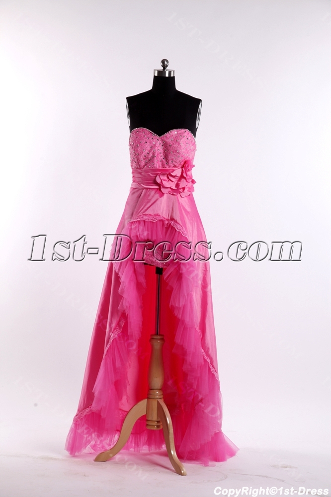 images/201308/big/Hot-Pink-Romantic-Cocktail-Dress-with-High-low-2509-b-1-1375365239.jpg