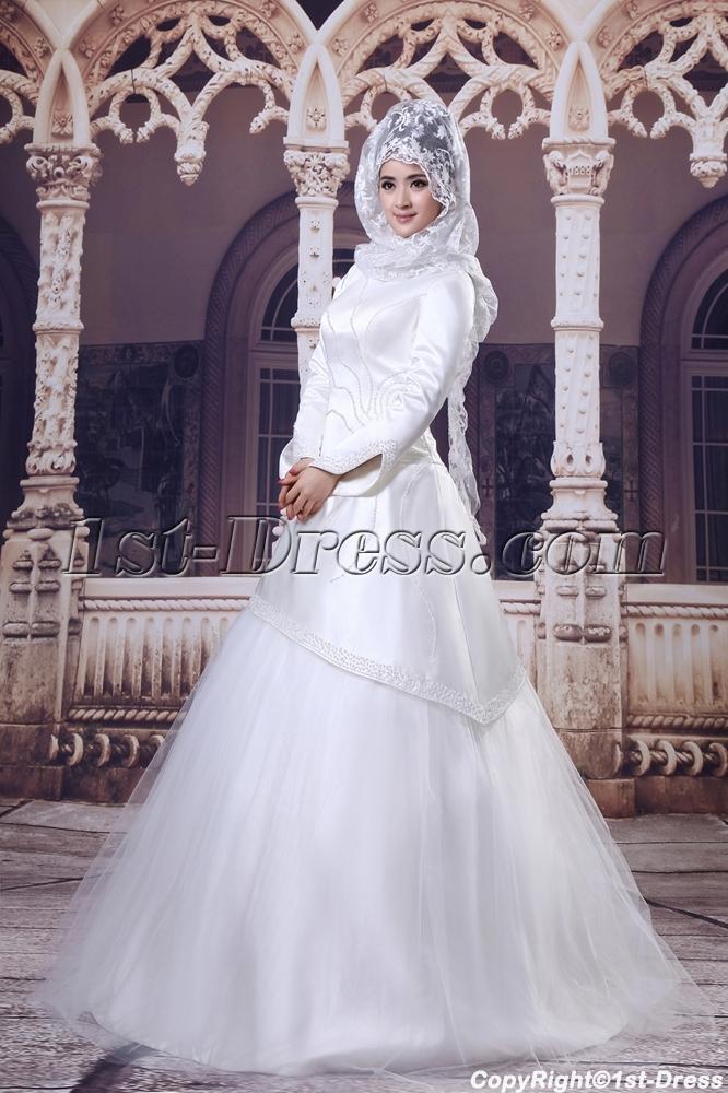 images/201308/big/Ivory-3-4-Long-Sleeves-Islamic-Wedding-Dresses-2661-b-1-1376056477.jpg