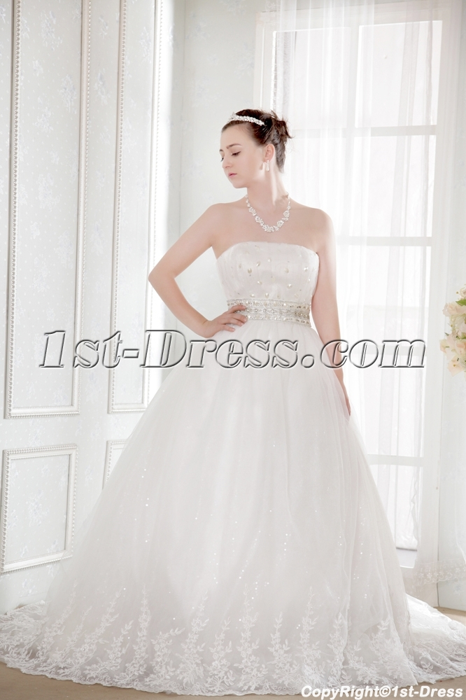 images/201308/big/Ivory-Strapless-Empire-Plus-Size-Discount-Bridal-Gowns-2521-b-1-1375434007.jpg
