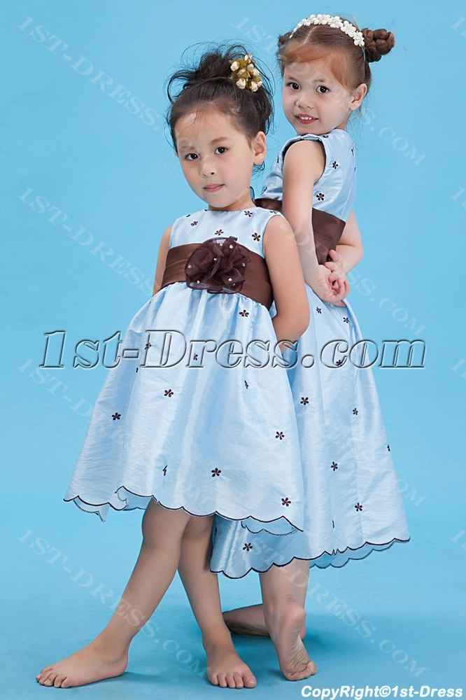 images/201308/big/Lovely-Blue-Baby-Doll-Flower-Girl-Dress-with-Brown-Waistband-2604-b-1-1375880088.jpg