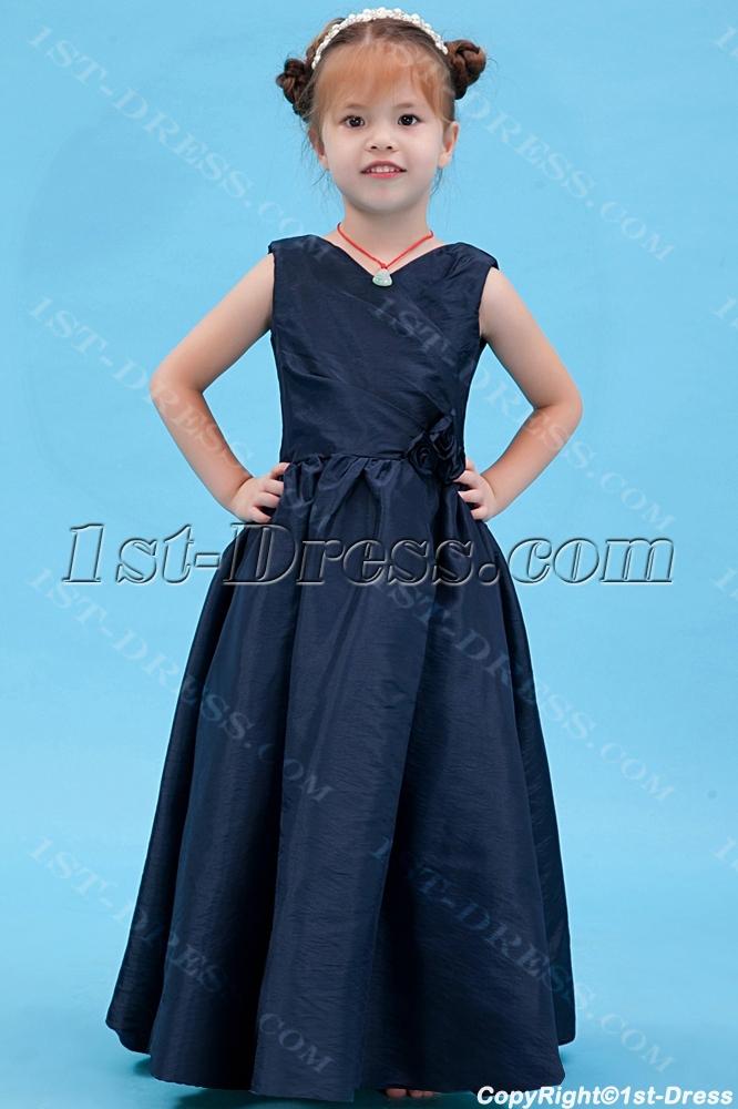 images/201308/big/Navy-Blue-Party-Dress-for-Girl-with-V-neckline-2612-b-1-1375883436.jpg