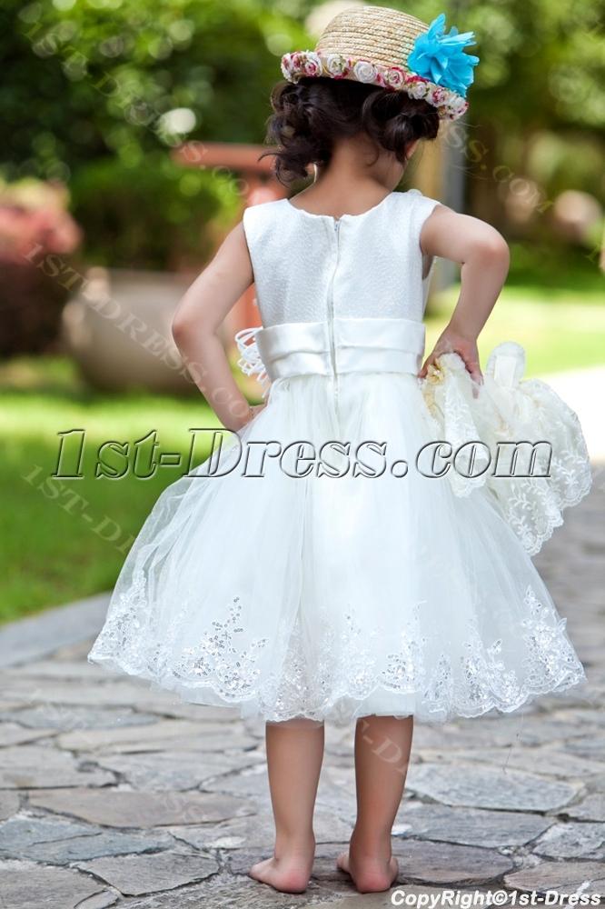 0ec5e0e3d1d Ostrich Feather Luxury Flower Girl Dress Ball Gown (Free Shipping)