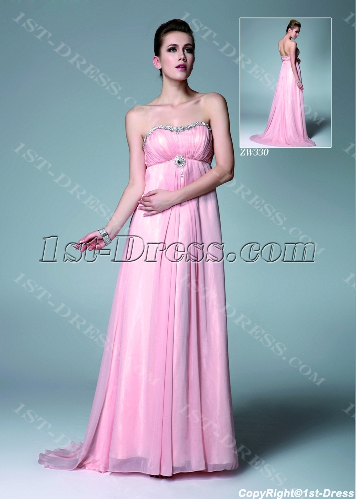 images/201308/big/Pink-Chiffon-Pregnancy-Prom-Dresses-for-Wedding-2632-b-1-1375957293.jpg
