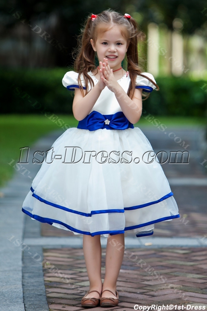Royal blue pretty flower girl dress discount1st dress royal blue pretty flower girl dress discount loading zoom mightylinksfo