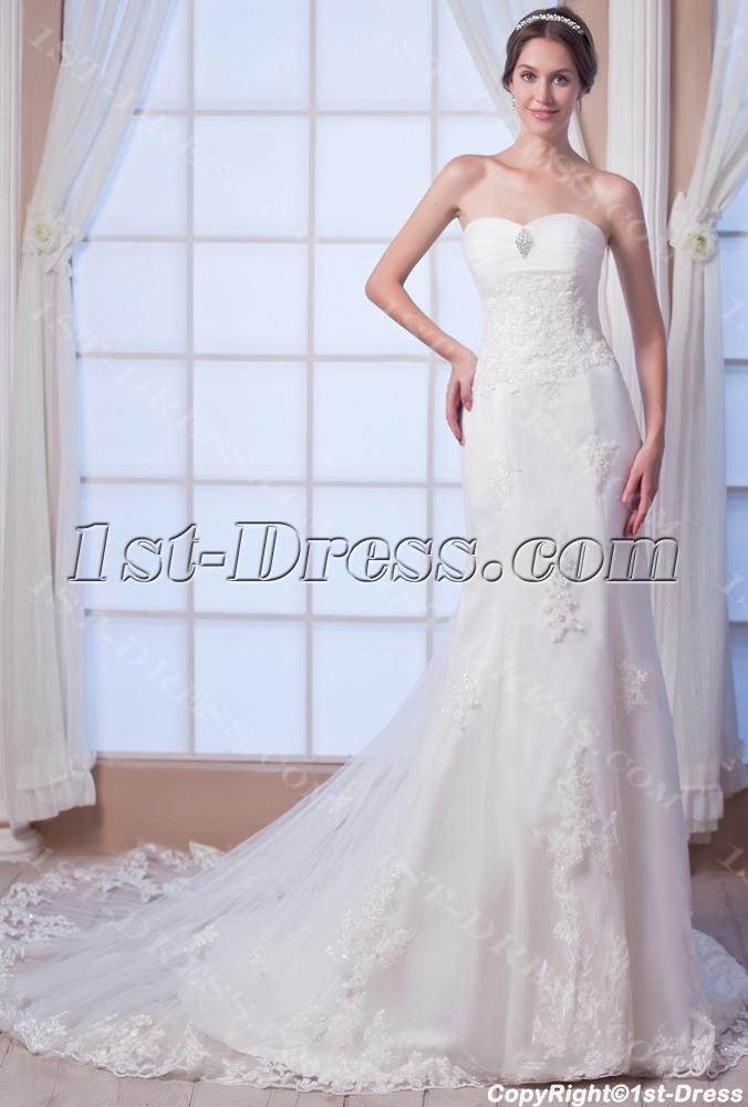images/201308/big/Sheath-Destination-Bridal-Gown-with-Corset-2682-b-1-1376313490.jpg