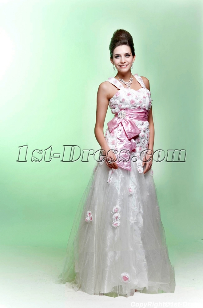 images/201308/big/White-and-Pink-2011-Quinceanera-Dress-with-Flowers-2640-b-1-1375959369.jpg