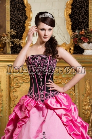 Gothic Colorful Bat Mitzvah Dresses with Jacket