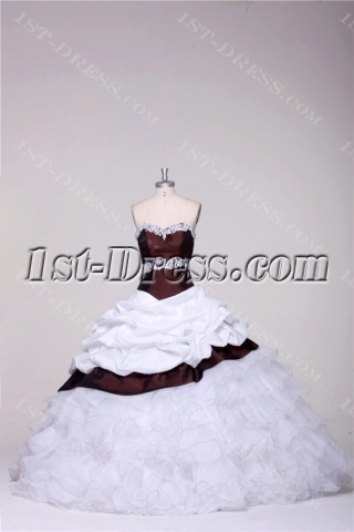 Luxury Pretty Quince Dresses with Basque