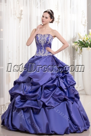 Regency Color Princess Ball Gown for Quinceanera