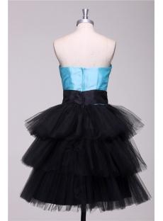 Black sweet 16 court dresses