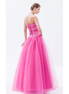 Brilliant Sweetheart Tulle Princess Ball Gown Quinceanera Dresses