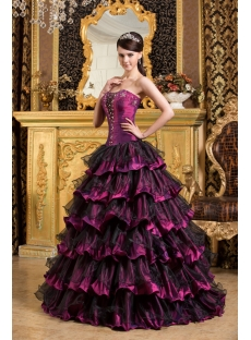 Glamorous Long Colorful Quinceanera Dresses Gowns