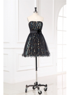 Juniors Little Black Cocktail Dresses with Sequins