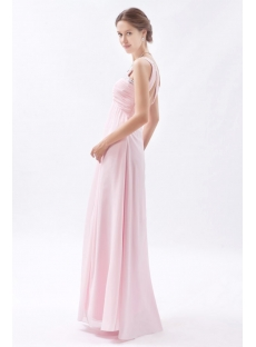 Light Pink Sweetheart Open Back Evening Dress for Full Figure