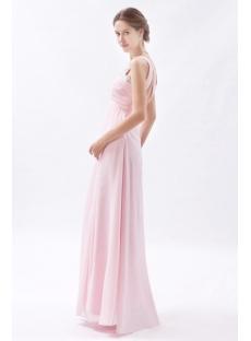 Light Pink Sweetheart Open Back Evening Dress for Full Figure