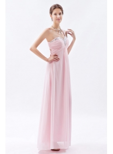 Light Pink Sweetheart Open Back Evening Dress for Full Figure:1st ...