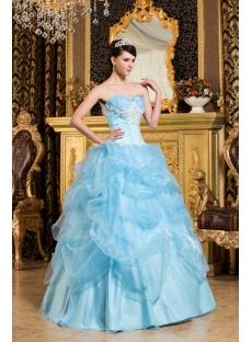 Light Sky Blue Pretty Quinceanera Dress 2013