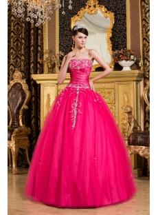 Lovely Best Hot Pink Debutante Dresses