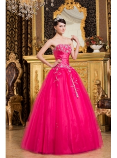 Lovely Best Hot Pink Debutante Dresses