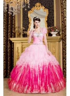 Luxurious Pink Hot Sale 2013 Quinceanera Dress