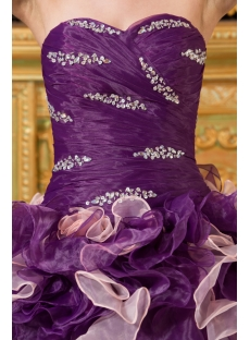 Modern Colorful Ruffle Quinceanera Dresses