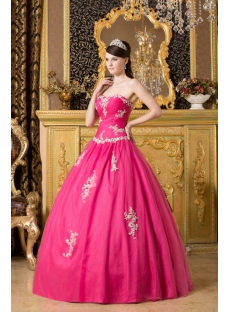 Modern Fuchsia Long Bat Mitzvah Ball Gown Dresses