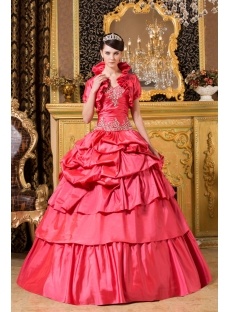 Modest Brilliant Best Fall 2012 Quinceanera Dress with Jacket