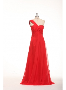 One Shoulder Strapless Empire Maternity Prom Dresses