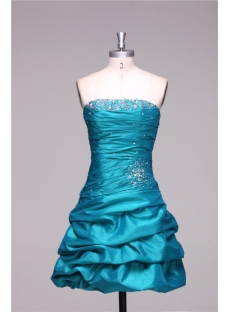 Turquoise Spring Mini Cocktail Dresses