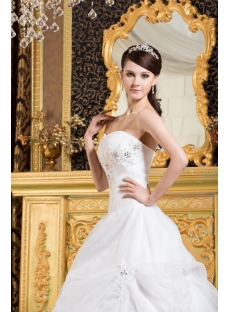 White Long Popular Quinceanera Gown Cheap