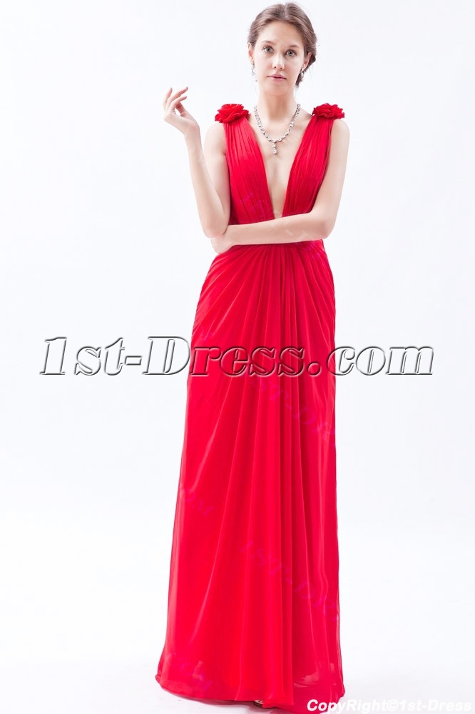 sexy red prom dresses 2014 2014 sexy red plunging long