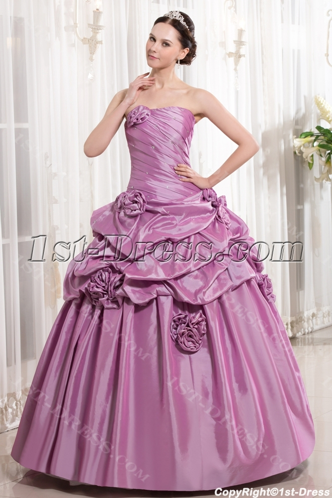 77aa45ce289 Beautiful Lilac Cute Quinceanera Gown with Short Jacket (Free Shipping)