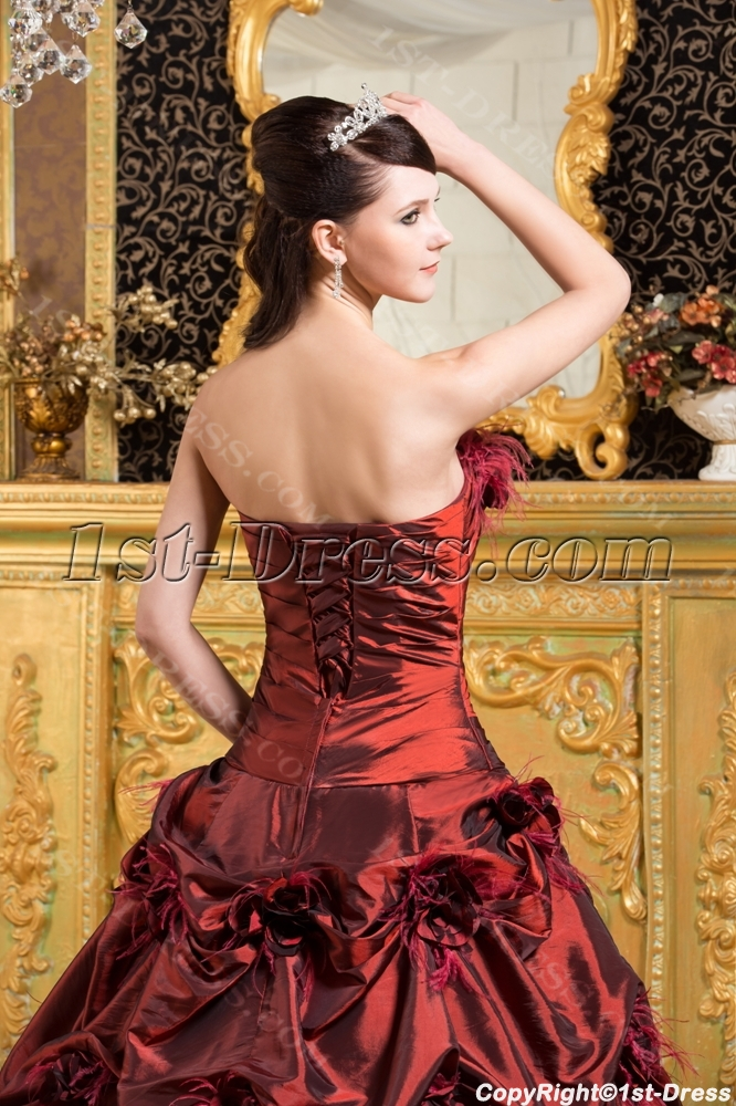 014a992a641 prev  next. Specifications. Product Name  Burgundy Ostrich Feather  Quinceanera Dresses 2013. ltem Code  xl002787. Category  Quinceanera ...