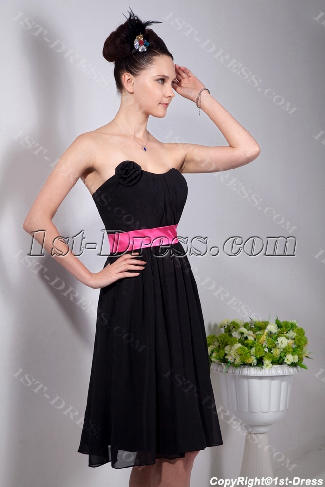 images/201309/big/Chiffon-Black-Little-Party-Dresses-with-Hot-Pink-Waistband-2912-b-1-1378897581.jpg