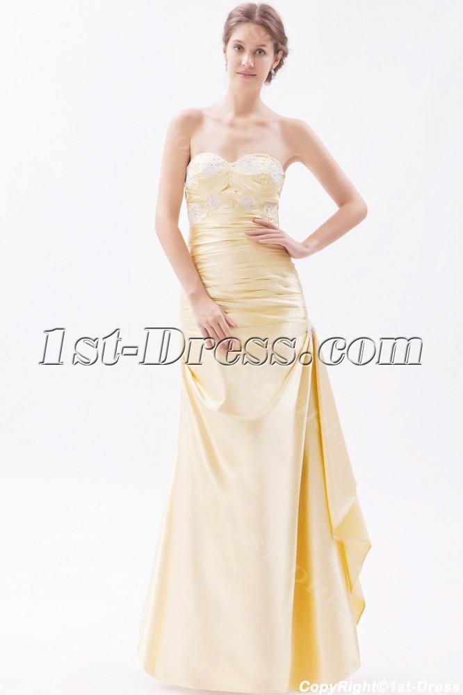 Sheath Graduation Dress