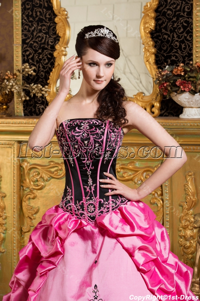 Gothic Colorful Bat Mitzvah Dresses with Jacket:1st-dress.com