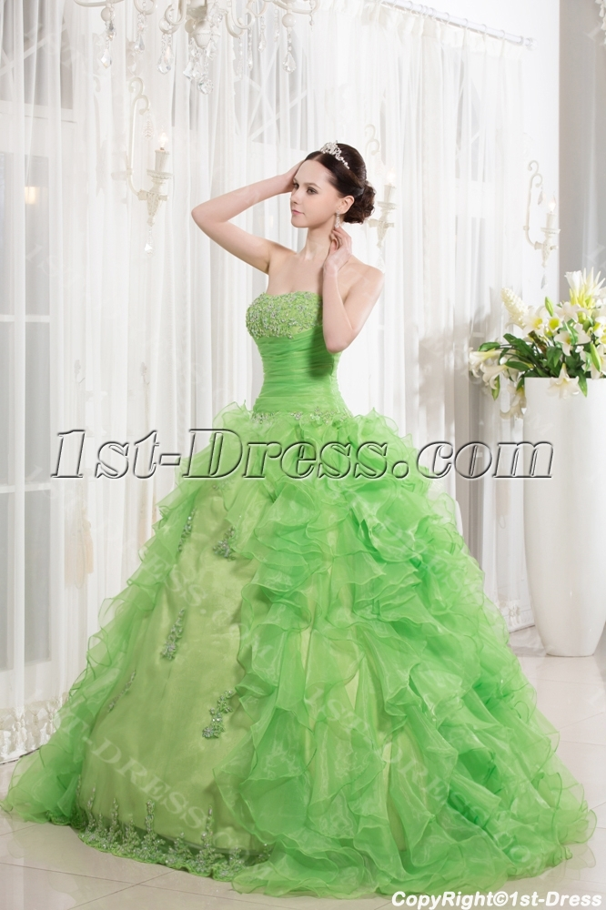 images/201309/big/Green-Traditional-Ruffle-Quince-Gown-Dress-2013-2844-b-1-1378394944.jpg