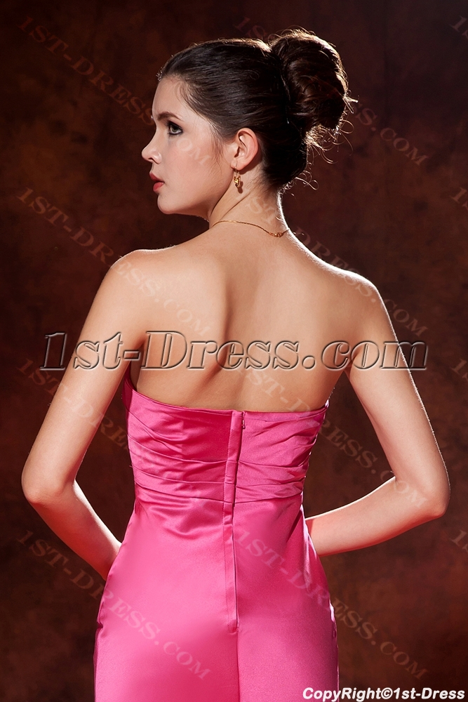 f30774605d87 prev; next. Specifications. Product Name: Hot Sale Fuchsia Strapless Sheath  Prom Dress 2013