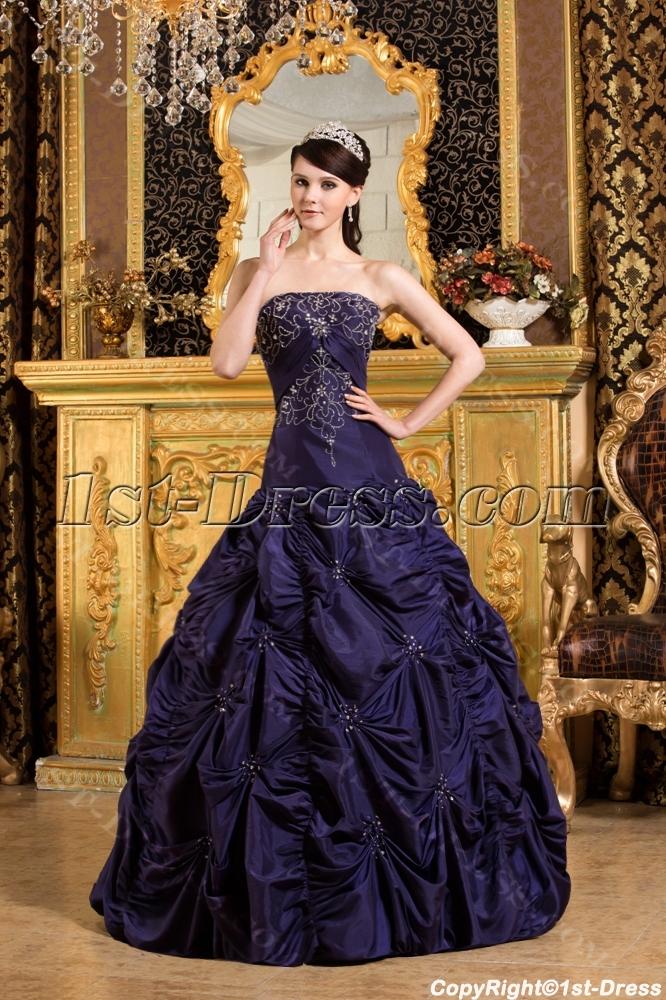 images/201309/big/Navy-Blue-Drop-Waist-Quinceanera-Dress-2012-with-Pick-up-2811-b-1-1378287946.jpg